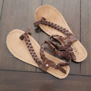 Unlisted sandals size 6